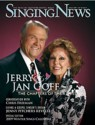January 2009 Singing News Cover with Little Jan & Bro. Jerry